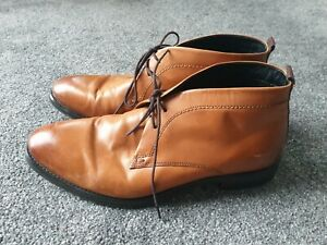 Brown Leather Boots Size 9