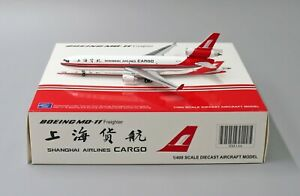 JC Wings 1:400 Shanghai Airlines Cargo McDonnell Douglas MD-11F B-2179 (XX4146)