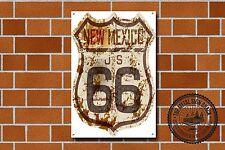 Route 66 Metal Sign, USA, Highway, Garage, Advertising, Cars, Biker, Vintage,655