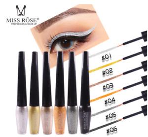 Liquid Glitter Eyeliner Eyeshadow Diamond Shimmer Waterproof Liquid Eyeliner
