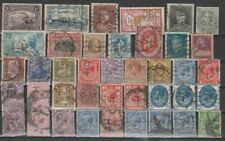 Varia, Lot de timbres PERFINS, perforés, bien