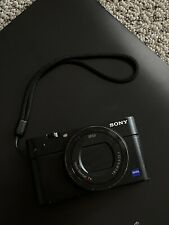 Sony DSC-RX100 IV Digital Camera 24-200mm Zeiss Zoom Lens - Black