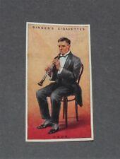 CIGARETTES CARD EDWARDS RINGER 1924 MUSICAL INSTRUMENTS N°15 OBOE