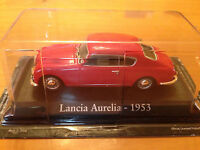 "DIE CAST ""LANCIA AURELIA - 1953"" SCALA 1/43 RBA AUTO INDIMENTICABILI"