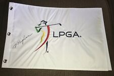 Minjee Lee Signed LPGA Golf Flag With Exact Proof