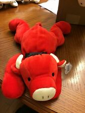 RED THE BULL  BEANIE BABY PILLOW PAL!  NEW, NEVER DISPLAYED! NICE!