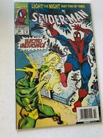 Spider- Man Light The Night Part 2 Of 3 Electro Unleashed #39 OCT 1993 Marvel