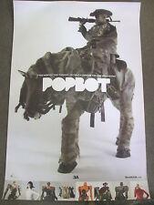 "Toy Fair Exclusive ThreeA ASHLEY WOOD - POPBOT - 36"" x 23¾"" Poster Print - NICE"