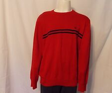Tommy Hilfiger Red Knit Sweater Pullover Crewneck Size XXL NEW