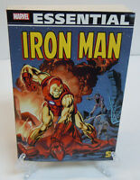 The Essential Iron Man Volume 5 Marvel TPB Trade Paperback Brand New 62 63 64 65