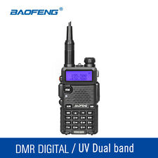 BAOFENG DM-5R VHF UHF 136-174MHZ/400-480MHZ  Walkie Talkie DMR Digital Radio