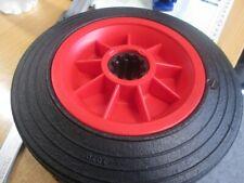 "8"" Wheel  Rubber Tyre 1"" Bore Roller Bearing"