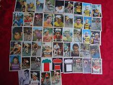 MONTY wielrennen kaartjes 49x coureurs serie Trio anno 1969 zeldzaam cyclisme
