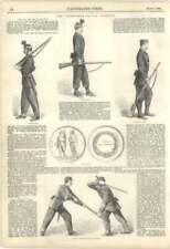 1860 The Volunteer Rifle Brigade, Manual Exercises, Bayonet Against Sword