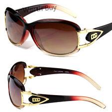 DG Eyewear Womens Mens Designer Sunglasses Shades Fashion Wrap Around Oval Retro
