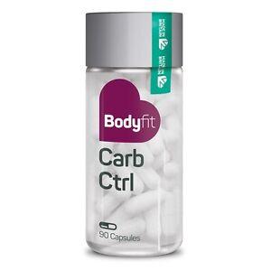 Bodyfit Carb Ctrl Capsules - Carbohydrates & Calorie Blocker - White Kidney Bean