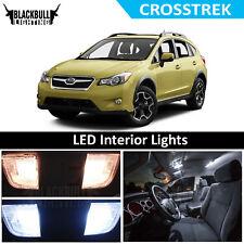 White LED Interior Lights Accessories Package Kit fits 2013-2018 XV CROSSTREK