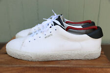 New listing Axel Arigato White Leather Casual Tennis Athletic Sneaker Shoe Low Top Men's 10