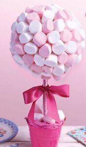 Marshmallow Sweet Tree Kit Party Birthday Decoration Pink,Purple Or Blue Wedding