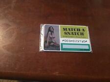 HIgh Grade Original Novelty CREDIT CARD circa 1960's: MATCH A SNATCH dating