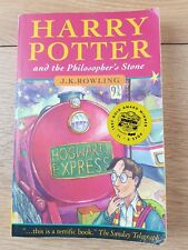 Harry Potter & Philosophers Stone 1st Edition 31st Print Dark Haired Wizard