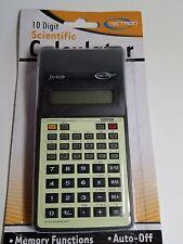 Scientific Calculator 10 Digit Display, Fx-82lb Fractions Percentage Exponents