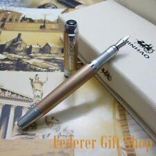 Jin Hao Business Office Writing Gift Pen Gold Fountain pen