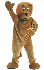 DRESS UP AMERICA ADULT ROARING LION MASCOT COSTUME COMPLETE WITH HEAD NIB!