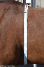 Horse Pony Weight+Height Tape Measure Wormer over/under weight stables