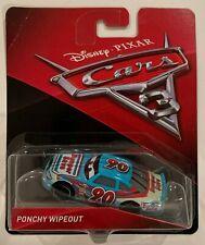 Disney PIXAR CARS 3 PONCHY WIPEOUT Mattel 2016 Toy Car