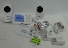 "Vtech Vm3252-2 2.8"" Screen 1000Ft Range Digital Video Baby Monitor w/ 2 Cameras"