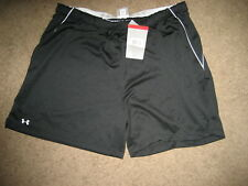New Women's Under Armour Black Training Shorts  Sz XL