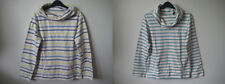 Seasalt Boslowick Sweatshirt Sweat Top 8-20 Breton Stripes organic cotton