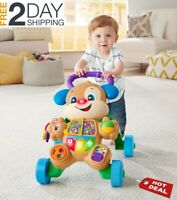 Baby Walker With Wheels Boy Girl Sit To Stand Infant Toddler Activity Learning