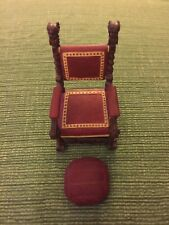 Miniature Chair-Raines-Willitts-Mr. Vanderbilt's Chair- Take A Seat - No Box