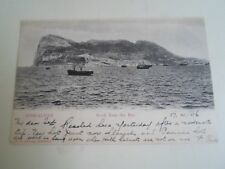 GIBRALTAR Rock From The Bay Franked+Stamped 1906 Pub. V B Cumbo   §A2837