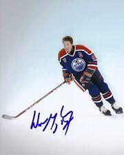 WAYNE GRETZKY Signed NHL EDMONTON OILERS Photo w/ Hologram COA