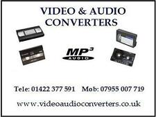 VHS 8mm Hi8 MINI DV60 90 VIDEOCASSETTA PER CD DVD MP4 WMV trasferimento convertire Service