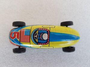 Vintage JAPAN Made Tin Toy America Mini Racing Ferari Car (9 cm)
