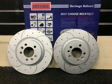 FOR DISCOVERY MK3 MK4 RANGE ROVER SPORT FRONT DRILLED BRAKE DISCS PAIR 360mm