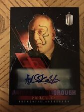 Topps Doctor Who Timeless 2016 Purple Autograph Card Kahler-Jex 14/25