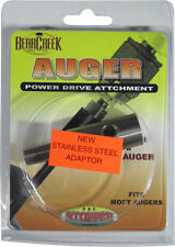 Ice Auger Adapter Stainless Convert cordless drill to Power auger Strikemaster