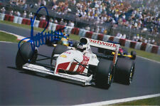 STEFAN JOHANSSON HAND SIGNED FOOTWORK F1 6X4 PHOTO.