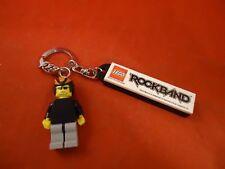 Lego Rockband Promotional Keychain Xbox 360 PS3 Wii Nintendo DS Key Chain
