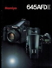 MAMIYA 645 AFD II SYSTEM CATALOG/BROCHURE (ORIGINAL PRINT JAPAN/not copies)