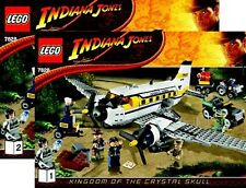 (Instructions) for LEGO 7628 - Peril in Peru - Book 1&2 INSTRUCTION MANUAL ONLY