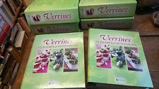 Verrines cuillères & petits plats 6 classeurs remplis de fiches recettes / Atlas