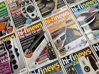HI-FI NEWS | 2006 MIXED ISSUES JOBLOT BUNDLE VINTAGE AUDIO EQUIPMENT MAGAZINES