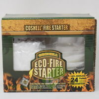 CoShell COFS Fire Starter Eco Fire Starting Packets (2 Boxes, 48 packets total)