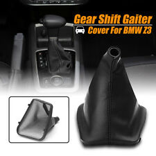 Leather Gear Stick Konb Cover Gaitor Gaiter Boot For BMW E30 E34 E36 E46 Z3 X5